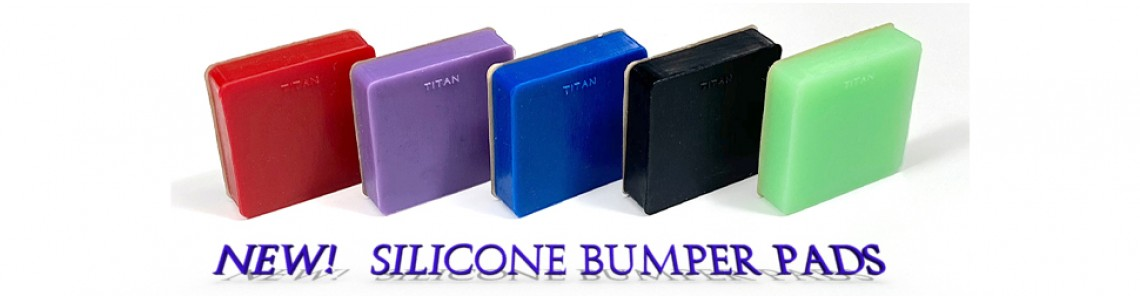 New! Titan Silicone Rubber Bumpers