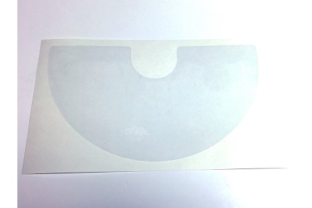 Clear Cabinet Flipper Button Protector - Pair