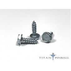 #6 x 1/2  Hex Head Screw