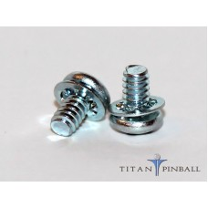 6-32 x 1/4 Pan Head SEMS Screw
