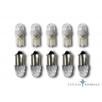 Clear Dome 1SMD 6.3 volt LED