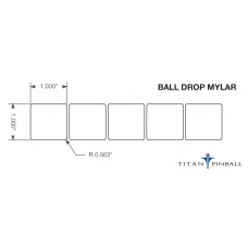 Playfield Ball Drop Mylar