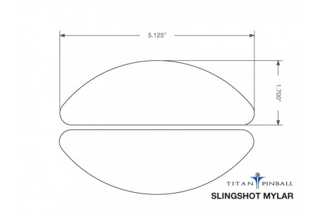 Playfield Slingshot Mylar