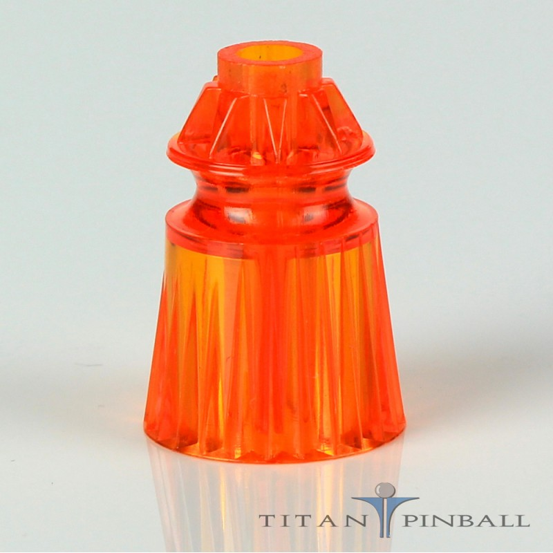 """Plastic Translucent Star Posts 1-1//16/"""" Tall Pinball"""