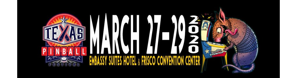 Texas Pinball Festival 2020